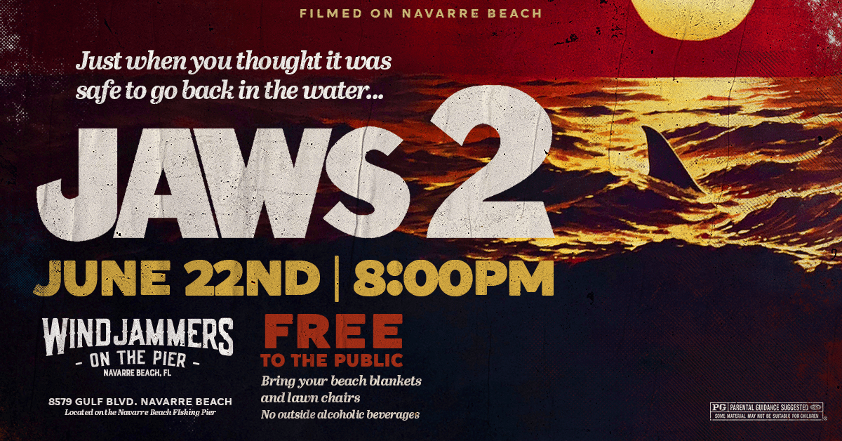 JAWS 2 on the Beach!
