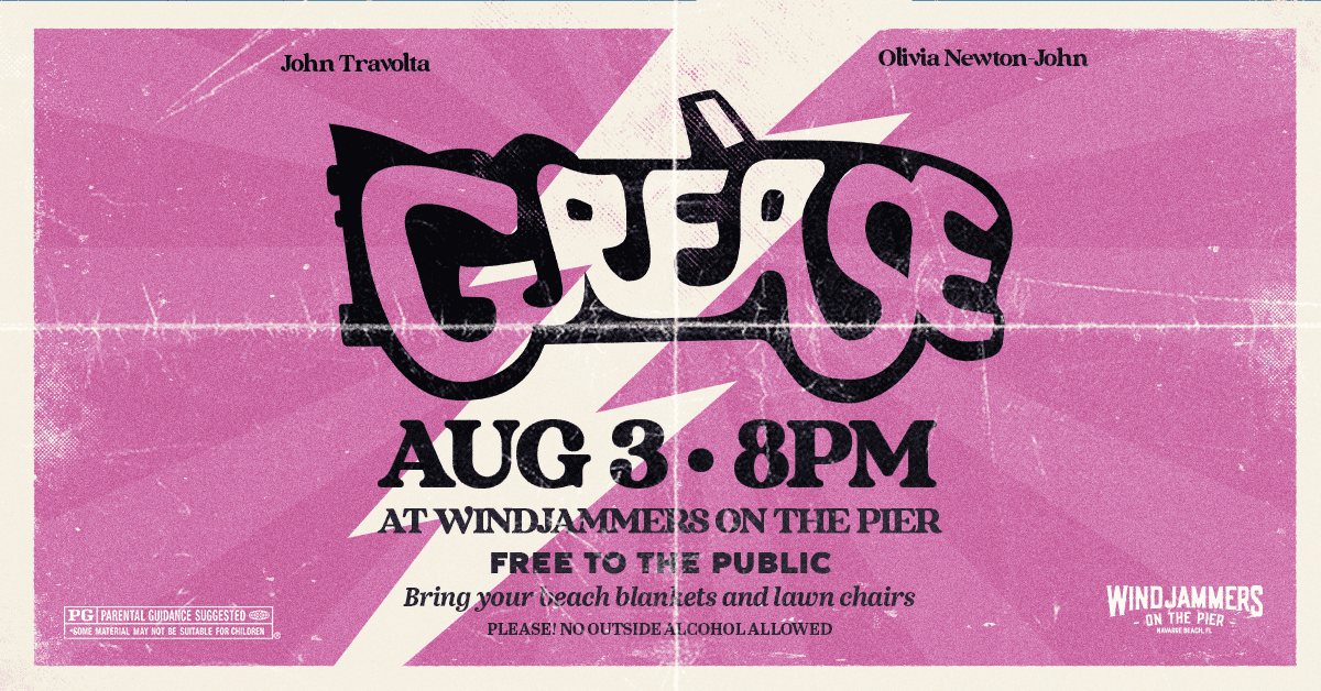 GREASE on the Beach!